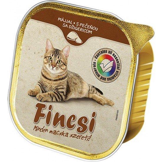 Fincsi macskaeledel májjal 100 g