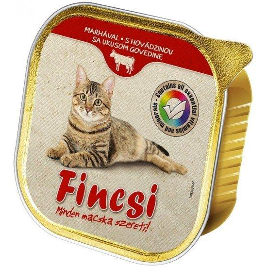 Fincsi macskaeledel marhahússal 100 g