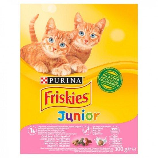 Friskies Junior macskaeledel csirkével és zöldséggel 300 g