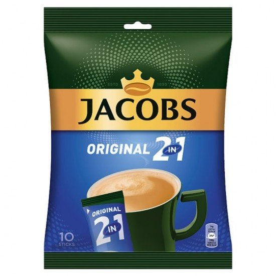 Jacobs 2in1 coffee 10x16 g