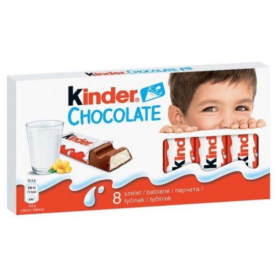 Kinder chocolate 8 pcs 100 g