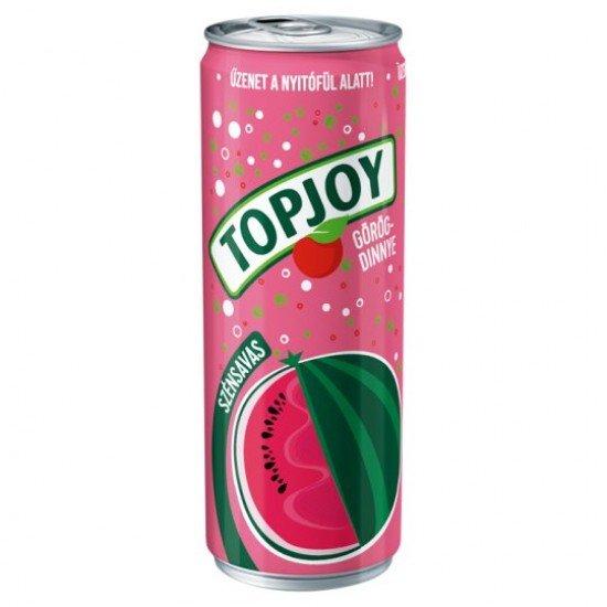 Topjoy görögdinnye ízű szénsavas üdítőital 330 ml