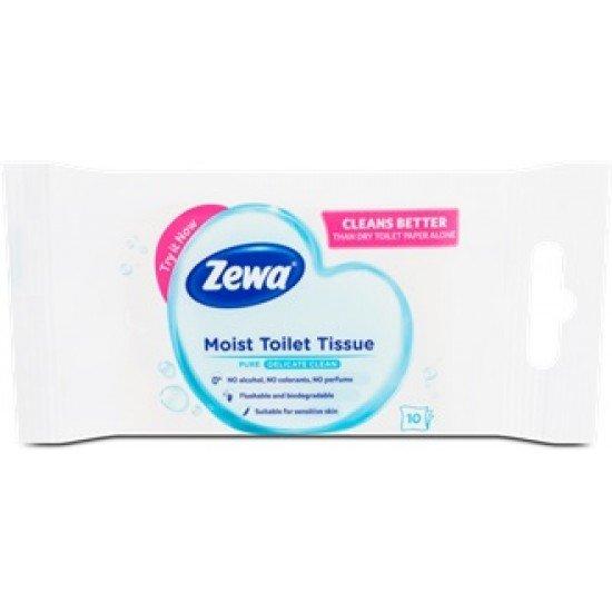 Zewa Moist Toilet Tissue Sensitive damp toilet paper 10 pcs
