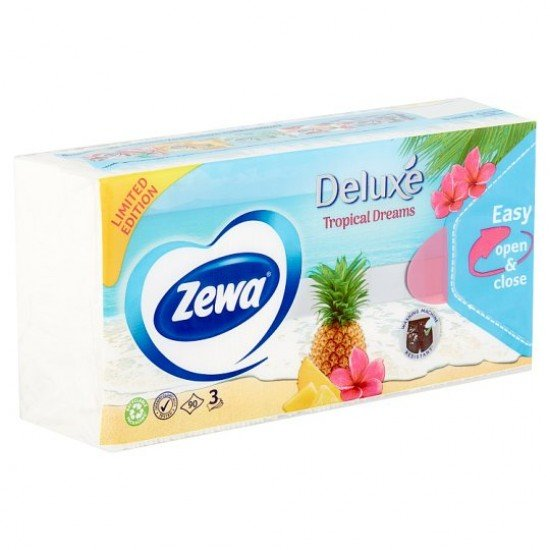 Zewa Deluxe Adventure tissue 3 layers 90 db