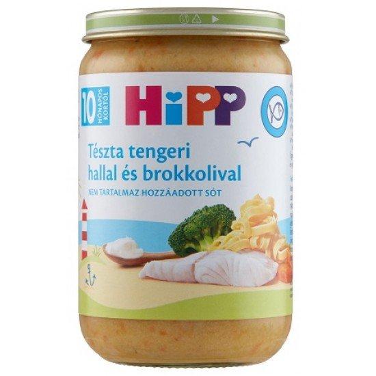 Hipp babymeal sea fish, pasta, broccoli 220 g 10 mth