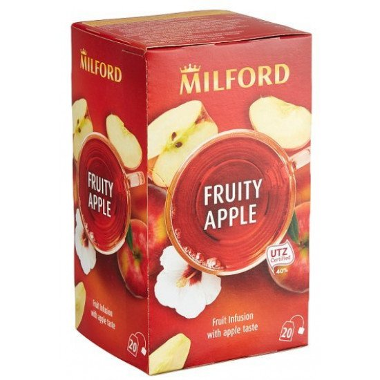 Milford Fruity Apple alma ízű tea 40 g