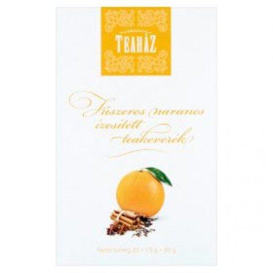 Gárdonyi Teaház fűszeres narancs ízű tea 30 g