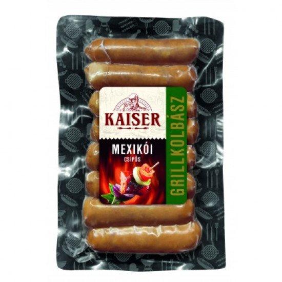 Kaiser grillkolbász mexicoi 190 g