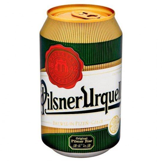 Pilsner Urquell világos sör 4,4% 0,33 L