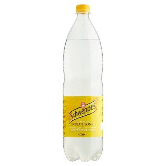 Schweppes Indian Tonic ízű szénsavas üdítőital 1,5 L