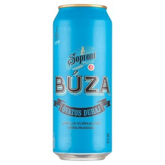 Soproni Búza Óvatos Duhaj sörkülönlegesség 5% 0,5 L