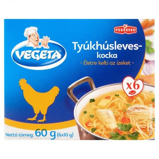 Vegeta chicken soup cube 6x10g
