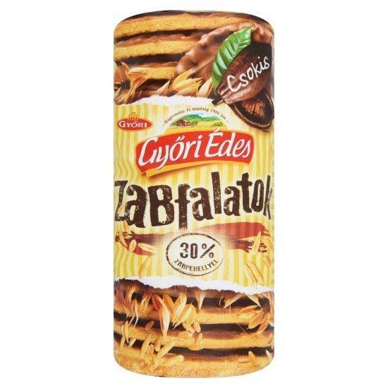 Győri zabfalatok chocolate oat biscuits 225 g