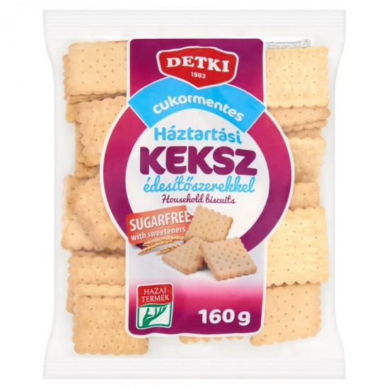 Detki Household biscuit sugar free 160 g