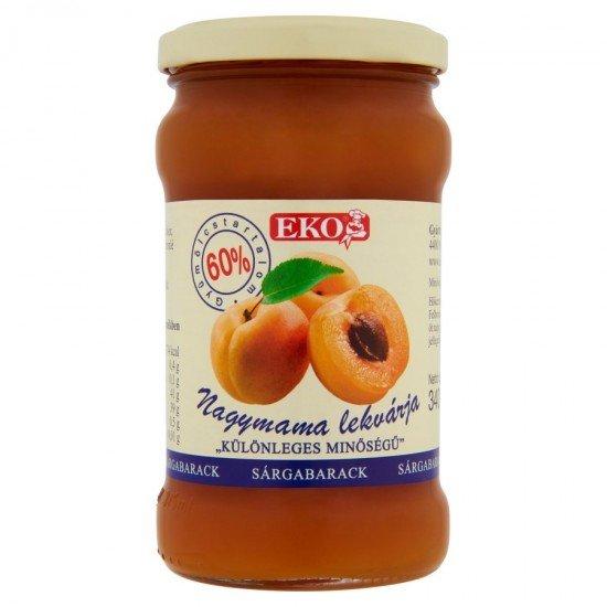 Eko apricot jam 370 ml