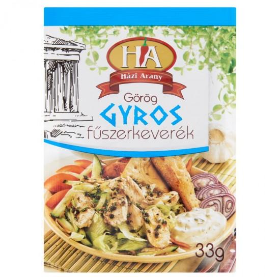 Házi Arany gyros spices 33 g