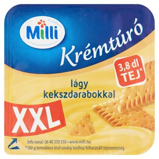 Mia XXL biscuit cottage cheese cream dessert 180 g