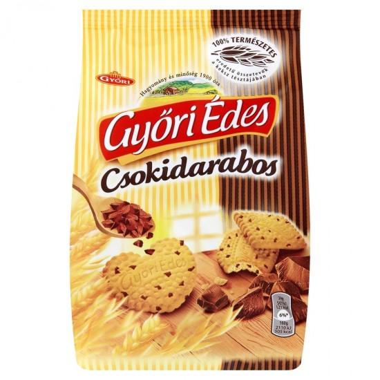 Győri Édes wholegrain chocolate biscuit 180 g