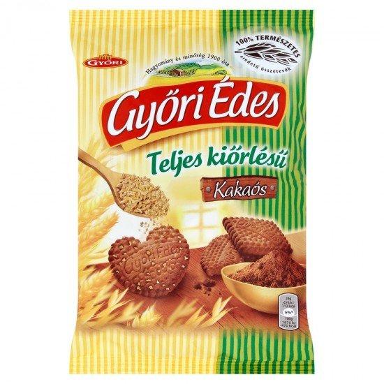 Győri Édes wholegrain cocoa biscuit 180 g