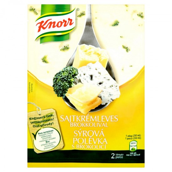 Knorr cheese creamsoup with broccoli 43 g