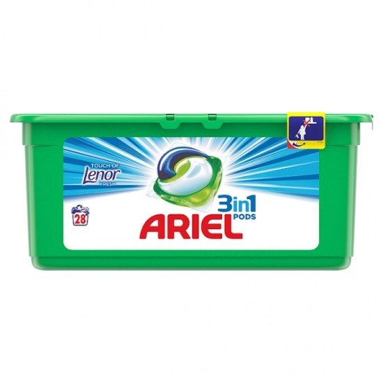 Ariel Touch of lenor mosókapszula 26 db
