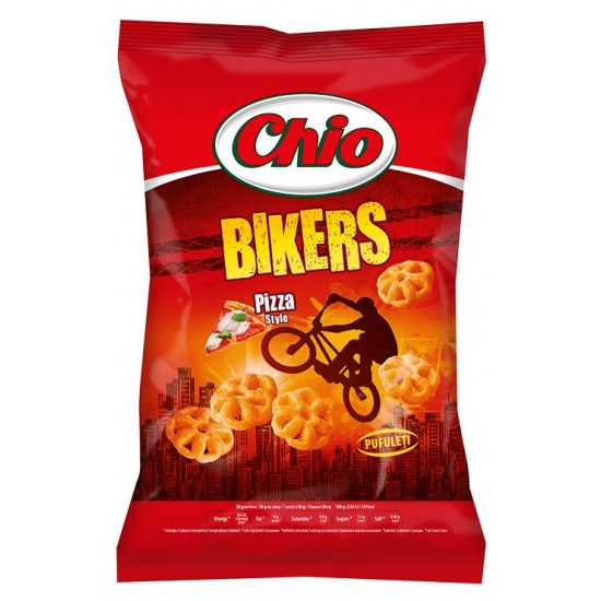 Chio Chips Bikers pizza ízben 80 g