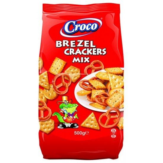 Croco Brezel Cracker Mix 500 g