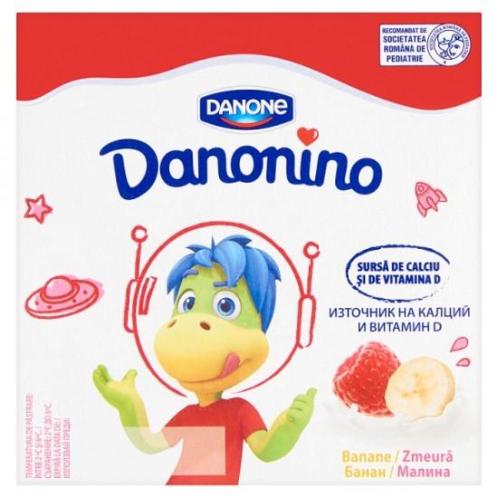Danone Danonino málna-banán ízű tejtermék 4x50 g