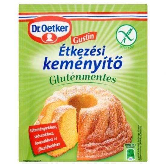 Dr, Oetker  Gustin gluténmentes étkezési keményítő 80 g