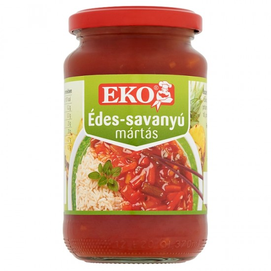 Eco sweet and sour sauce 360 g