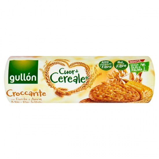 Gullón cereal sauce with puffed rice 265 g