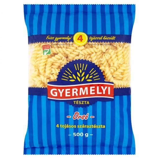 Gyermelyi roll pasta, 4 eggs 500 g