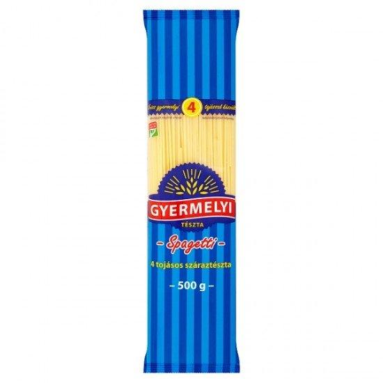 Gyermelyi spaghetti pasta, 4 eggs 500 g
