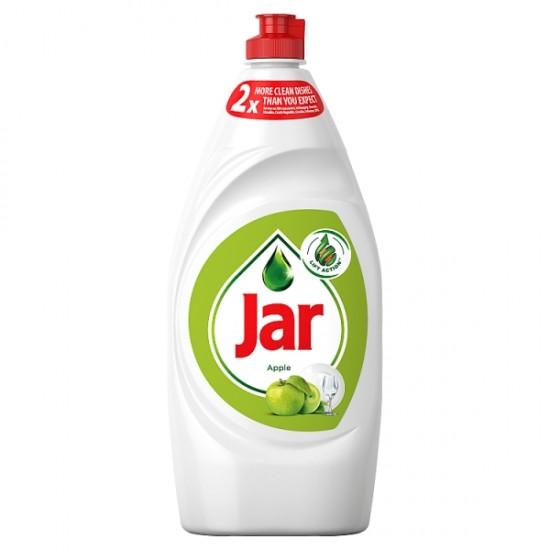 Jar with green apple dish soap 900 ml