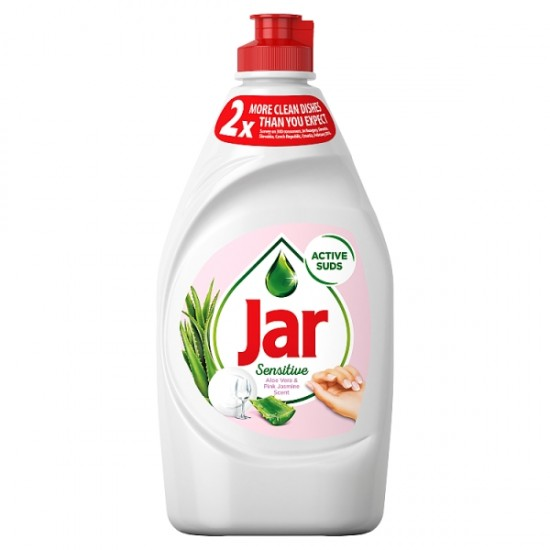 Jar Sensitive Aloe Vera & Pink Jasmine dish soap 450 ml