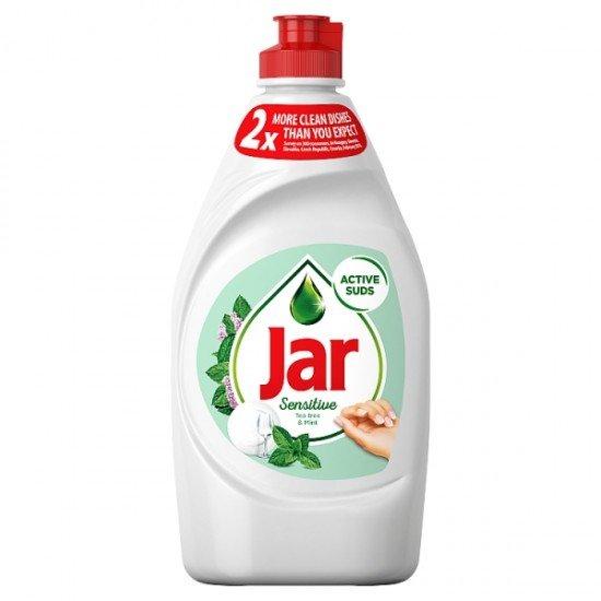 Jar Sensitive mint dish soap 450 ml