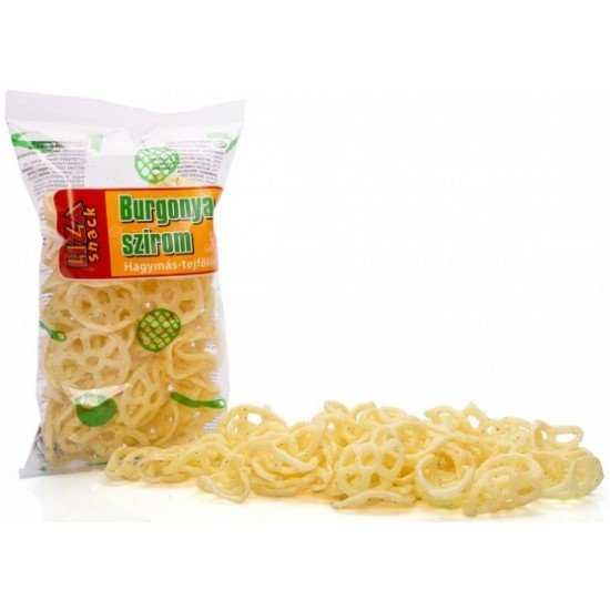 Liza Snack szekérkerék hagymás-tejfölös 45 g