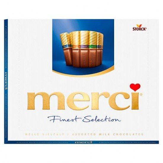 Merci Finest Selection 4 tejcsokoládé-különlegesség 250 g