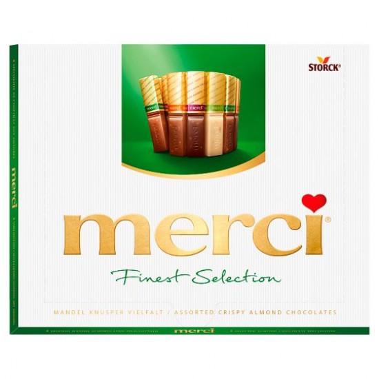 Merci Finest Selection 4 mandulás csokoládékülönlegesség 250 g