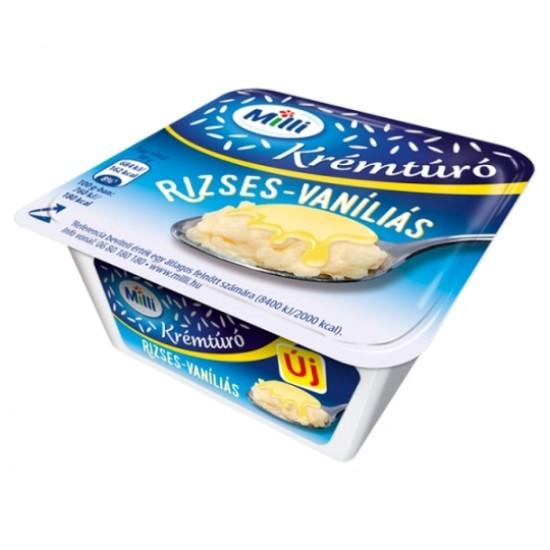 Milli rice-vanilla cottage cheese cream 90 g