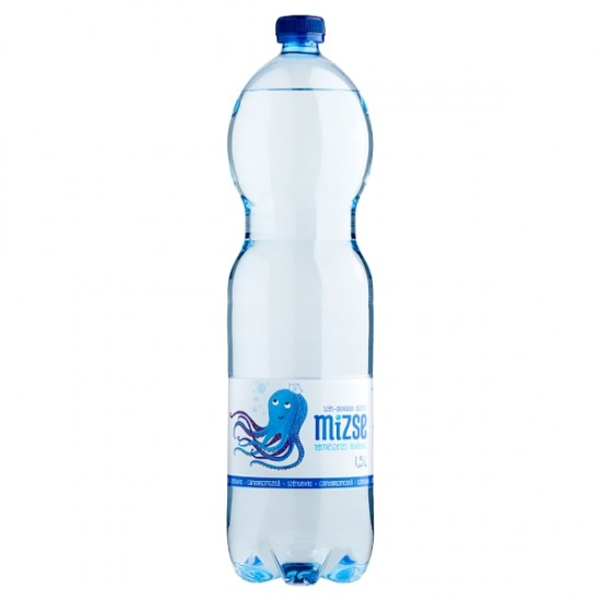 Mizse mineral water with gas 1,5 L