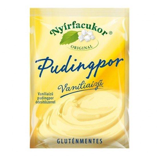 Nyírfacukor Original gluténmentes vegán vaníliás pudingpor 80 g