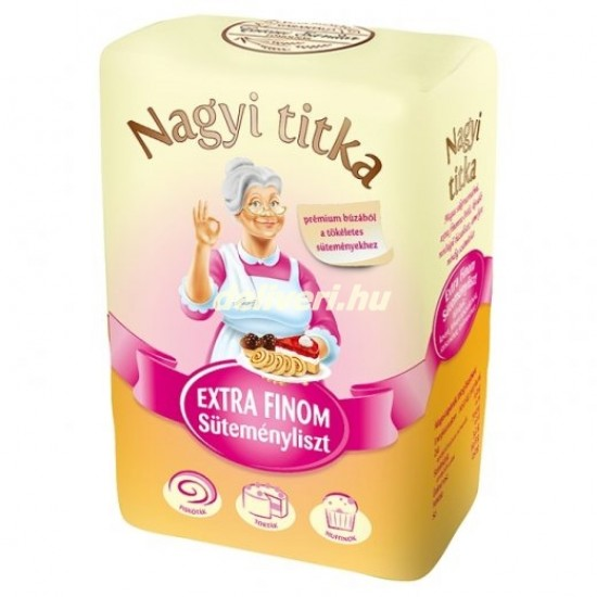 Nagyi titka extra fine flour 1 kg