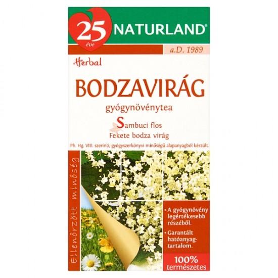 Naturland Herbal elder flower tea bags 30 g