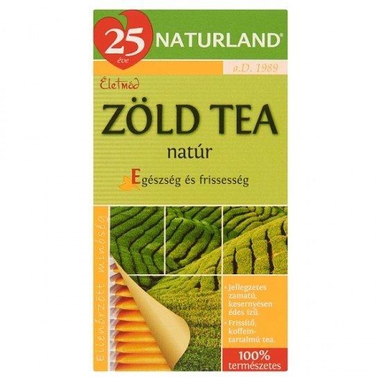 Naturland Herbal green tea bags 30 g