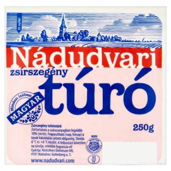 Nádudvari cottage cheese low 250g