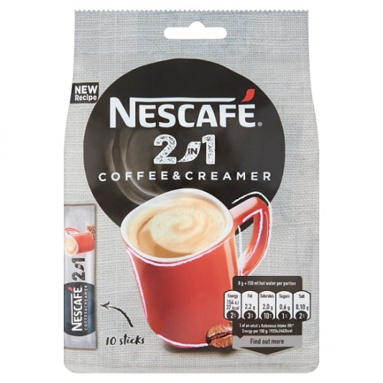Nescafé 2in1 Classic instant kávé italpor 10x8 g