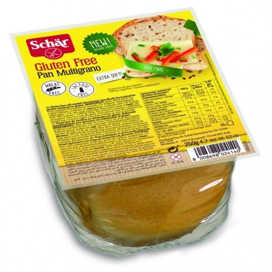 Schär gluténmentes szeletelt magvas kenyér 250 g