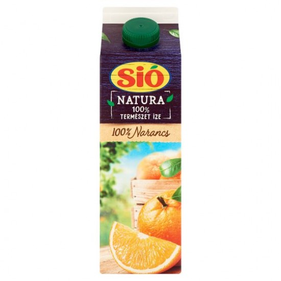 Sió Natura Orange Juice 100% 1 L
