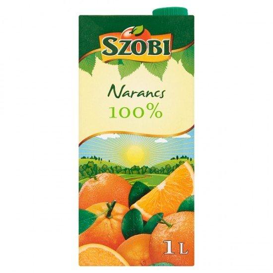 Szobi orange juice 100% 1 L